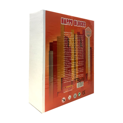 Happy Blocks 208 Pcs (T8401)