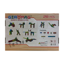 Load image into Gallery viewer, Giromag 28 Piece Magnetic Wooden Blocks (T8538)