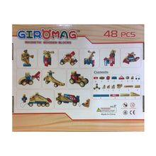 Load image into Gallery viewer, Giromag 48 piece Wooden Block Set (T8544)