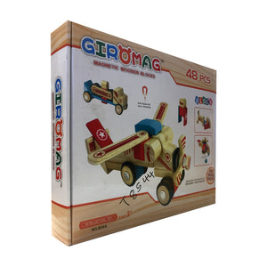 Giromag 48 piece Wooden Block Set