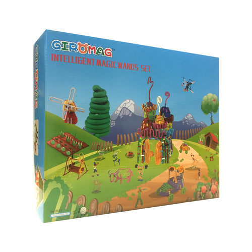 Giromag Magic Wands 268 Piece (T8558)
