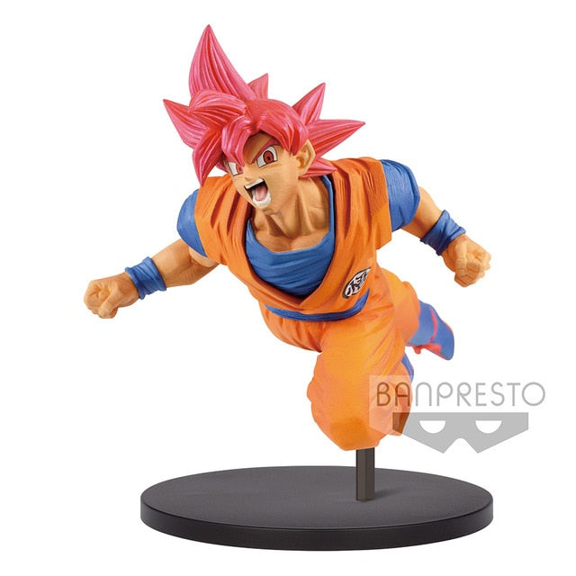Action figure Goku SSJ God