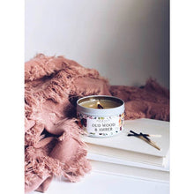 Oud Wood & Amber Soy Candle Tin