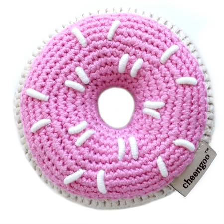 Donut Rattle - Pink
