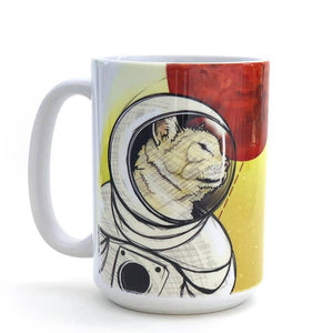 Curiosity Space Cat Mug