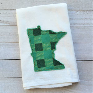 MN Embroidered Tea Towels
