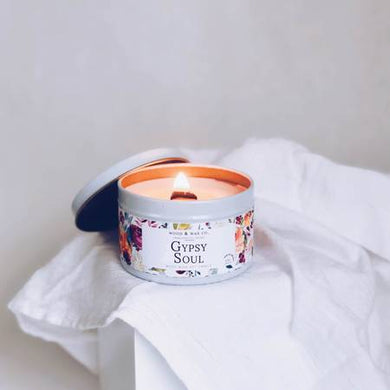 Gypsy Soul Soy Candle Tin