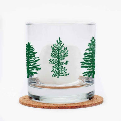 Trees Rocks Glass (11 oz)
