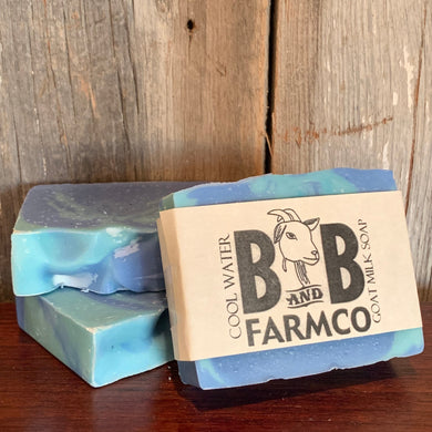 Cool Water Goat Milk Soap