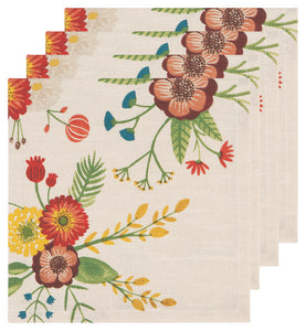 Goldenbloom Napkins (Set of 4)