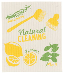 Natural Cleaning Swedish Dishcloth