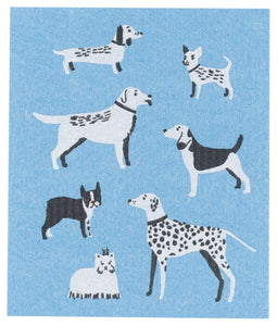 Dog Days Swedish Dishcloth