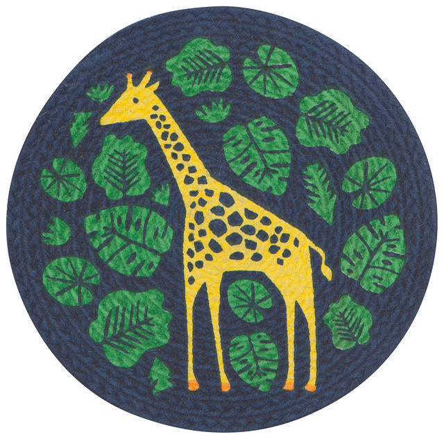 Giraffe Braided Trivet