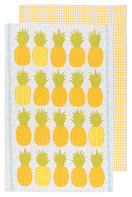 Pineapple Set Tea Towels