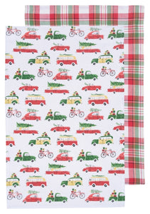 Holiday Cars Tea Towels