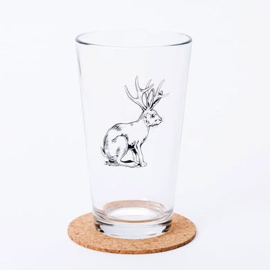 Jackalope Pint Glass (16 oz)