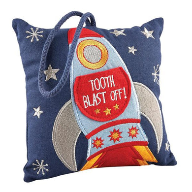 Tooth Fairy Cushion- Rocket
