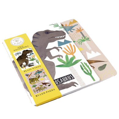 Dinosaur Notebooks (Set of 2)