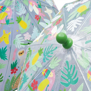 Color Changing Umbrella--Jungle