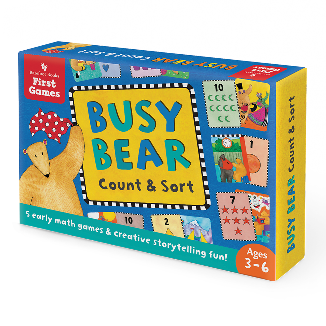 Busy Bear Count & Sort Card Game