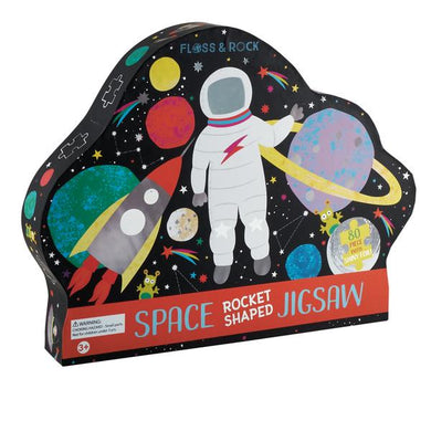 Space Rocket Shaped Puzzle