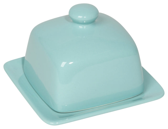 Square Butter Dish-Eggshell