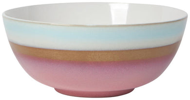 Reactive Glazed Serving Bowl Aurora