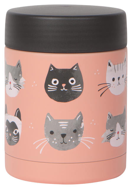 Cats Meow Food Jar