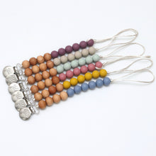 Pacifier Clips - Silicone + Wood Options