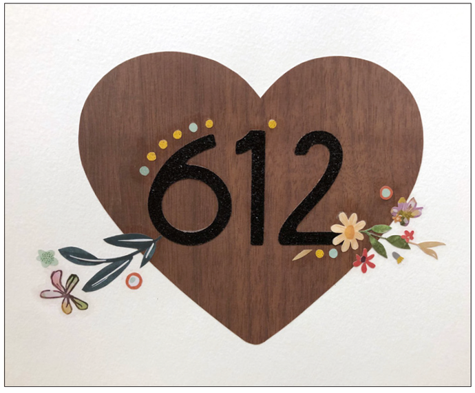 612 Hand-Cut Artwork by Anna P.