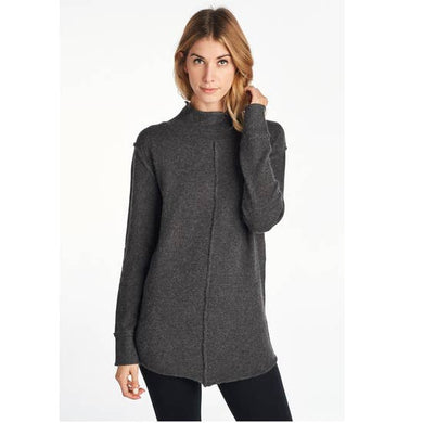 Extra Soft Mock Neck Sweater