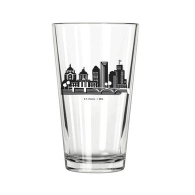 St. Paul Skyline Pint Glass (16 oz)