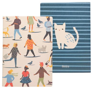 People Person Set of 2 Notebooks