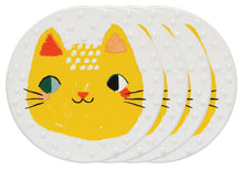 Meow Meow Ceramic Coasters (Set of 4)