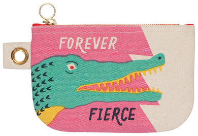 Crocodile Zip Pouch Small