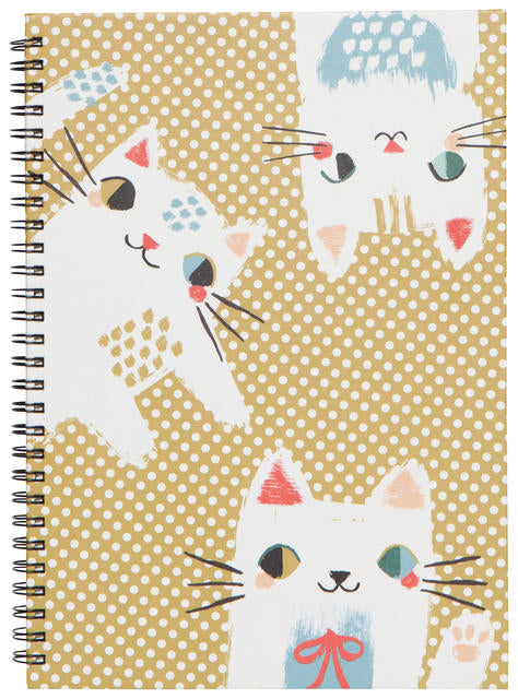 Meow Meow Ring Bound Notebook