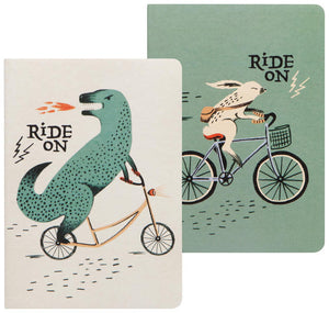 Wild Riders Set of 2 Notebooks