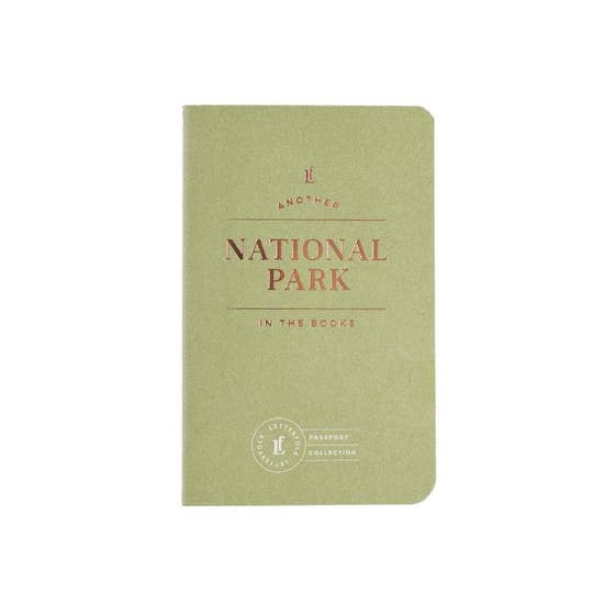 National Park Passport Journal