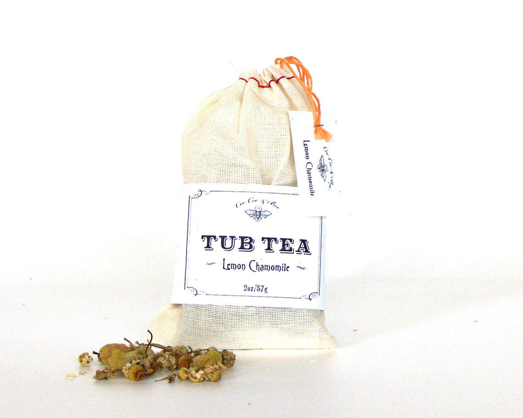 Lemon Chamomile Tub Tea Bath Soak 2oz