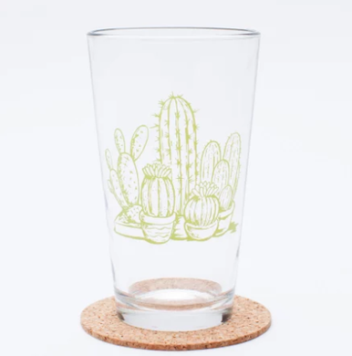Cactus Pint Glass (16 oz)