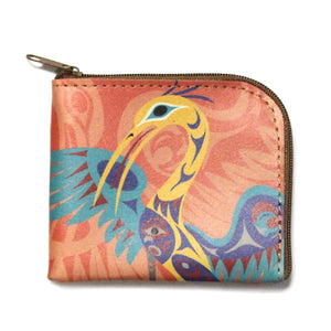 Heron Coin Purse by Doug LaFortune