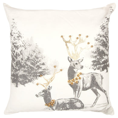Royal Deer Pillow