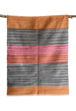 Striped Cotton Rug (3'x5