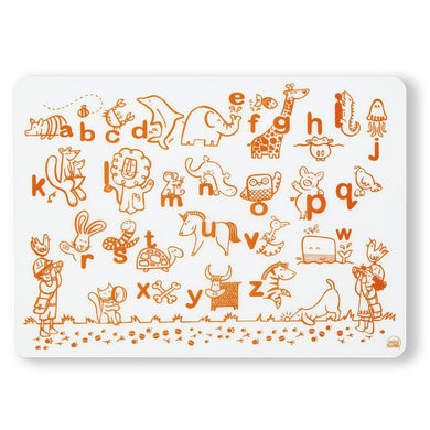 Mark-Mat - Animal Alphabet (Orange)