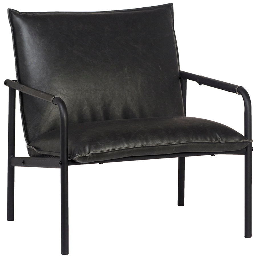 Black Vintaged Occasional Chair