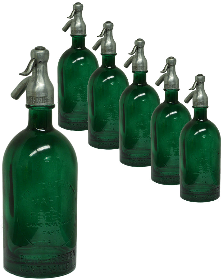 Seltzer Bottle--Green