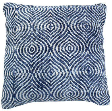 Indigo Handwoven Pillow