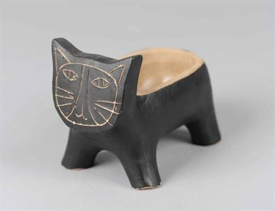 Black Cat Pot/Planter (Large)