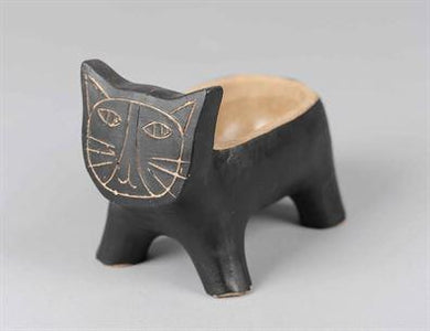 Black Cat Pot/Planter (small)