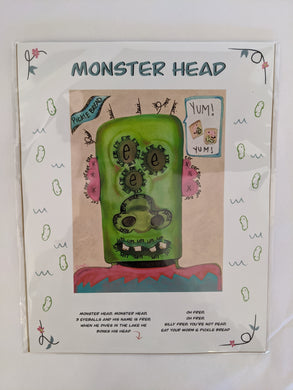 Monster by Local Artist Dolly Heart